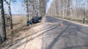Под Климовом в трагическом ДТП погибли два человека
