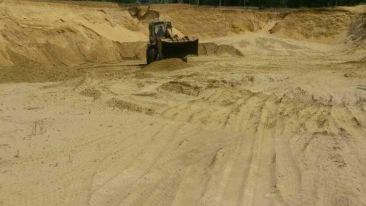 Арбитражный суд оштрафовал суземского «генерала» песчаных карьеров
