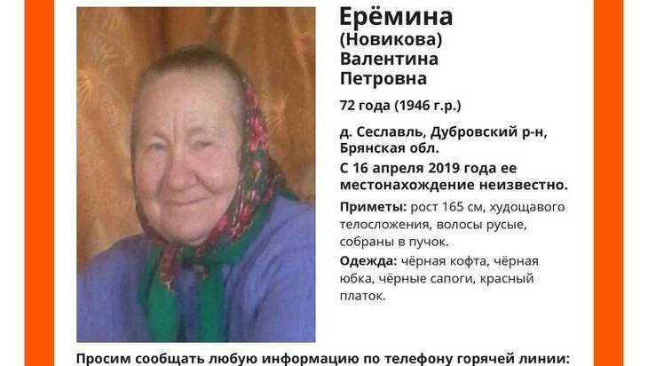 В Брянской области третий день ищут пропавшую женщину