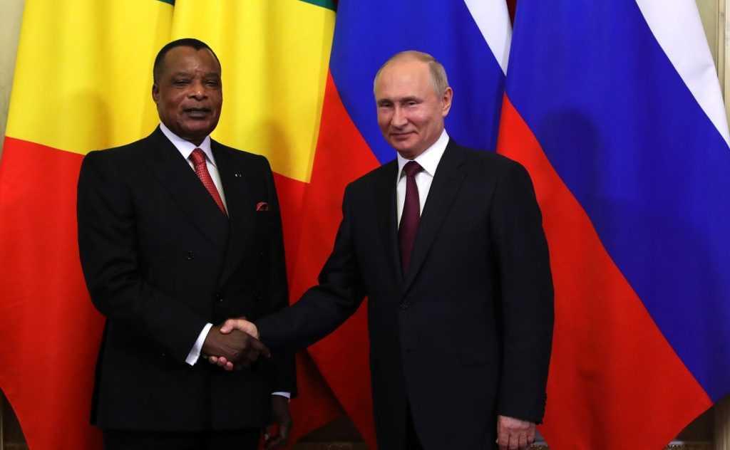 Россия отправит военных в Конго
