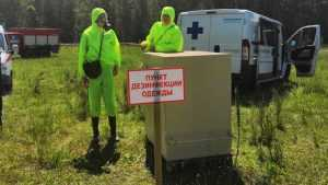 В Брянской области отрепетировали введение карантина при падеже птиц
