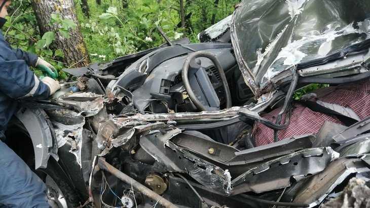 Появились фото трагического ДТП на объездной брянской дороге