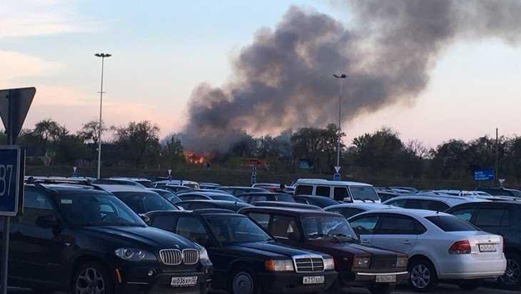 В Брянске возле «Аэропарка» случился очередной бизнес-пожар