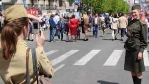 В центре Брянске 6 мая на время репетиции парада ограничат движение