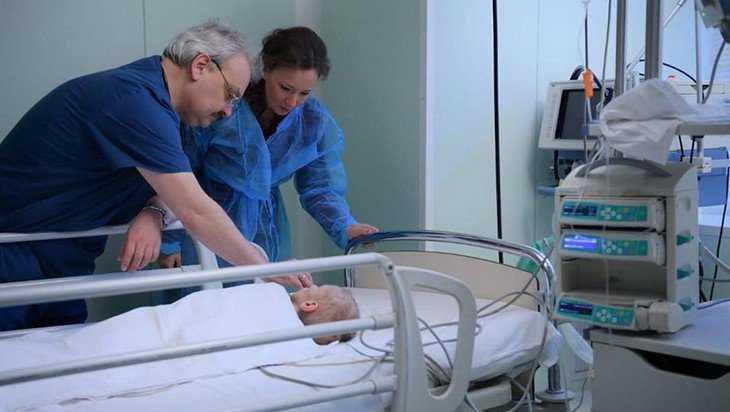 Истощенного малыша после выздоровления возвратят в Брянскую область