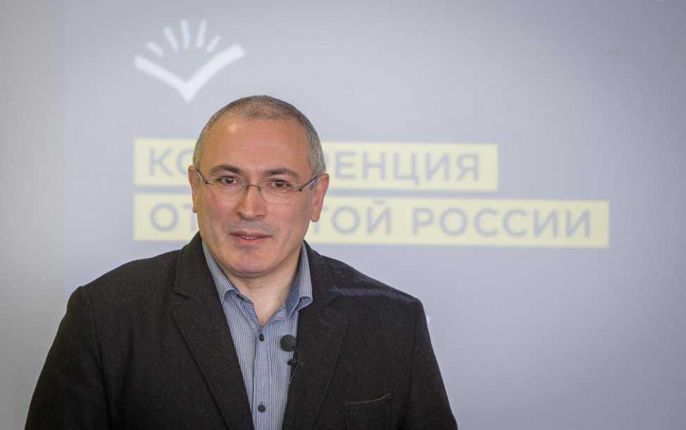 Ложь Ходорковского или фирменное блюдо бойца «пятой колонны»