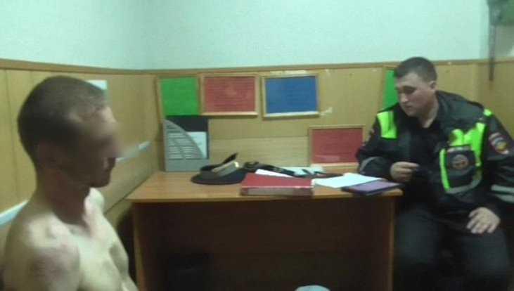 Брянское УМВД сообщило подробности задержания неадекватного водителя