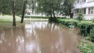 В Брянске строительство ливнёвки в переулке Пилотов будет ускорено