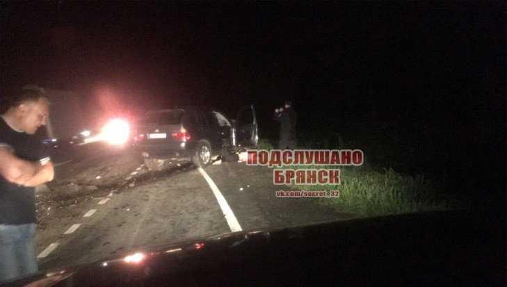 В сети появились фото трагического ДТП на брянской трассе