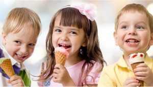 В Брянске детей 1 июня угостят бесплатным мороженым