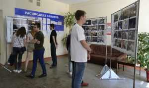 БМЗ организовал фотовыставку «Мы – Трансмашхолдинг» в Политехническом колледже БГТУ