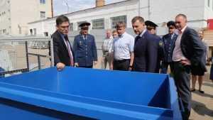 Сенаторы осмотрели производство контейнеров в брянской колонии
