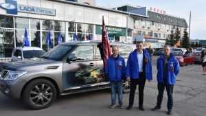 В Брянской области организовали автопробег «Дорогами Победы»