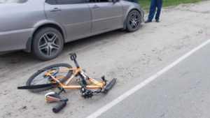 В Унече автомобилистка сбила 50-летнего велосипедиста