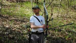 Брянский лучник занял второе место на Кубке России