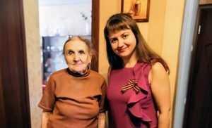 Пережившая войну 97-летняя сотрудница Брянскстата получила поздравления