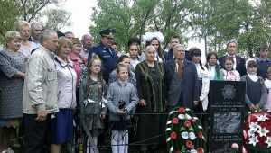 В Карачевском районе открыли памятник погибшему в 1943 году лётчику