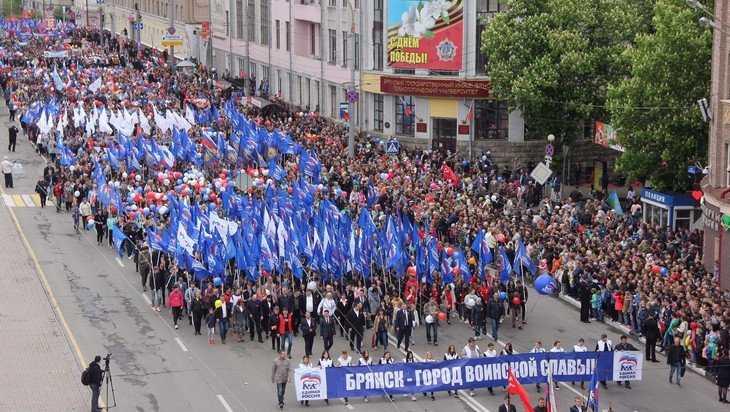 На Параде Поколений самой многочисленной стала колонна «ЕР»