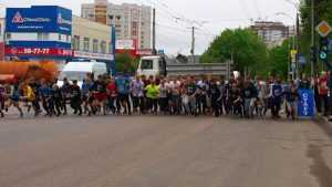 Легкоатлетическую эстафету в честь 9 мая пробежали 1500 брянцев