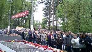 В Бежице День Победы отпраздновали тысячи жителей