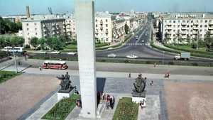 В Брянске показали площадь Партизан образца 1974 года