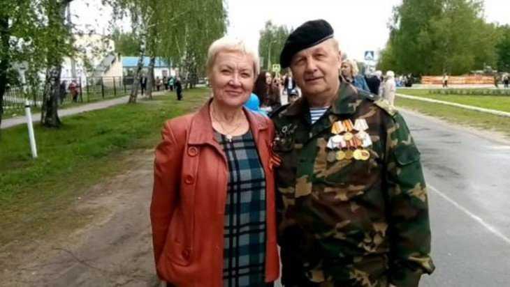 Председатель Союза писателей России отметил День Победы в суземском селе