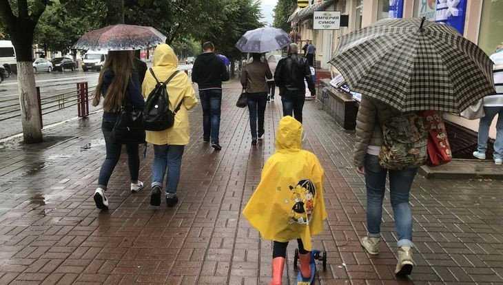 В Брянской области 13 мая синоптики прогнозируют дождь и грозу