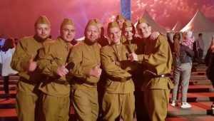 Брянский ансамбль «Бабкины внуки» выступил в Москве на Поклонной горе