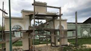 В брянском монастыре Белобережская пустынь начались строительные работы