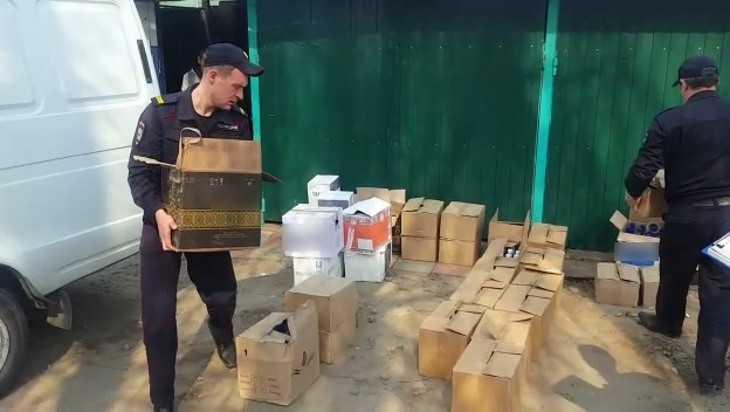 На Брянщине нашли схроны с контрафактным алкоголем