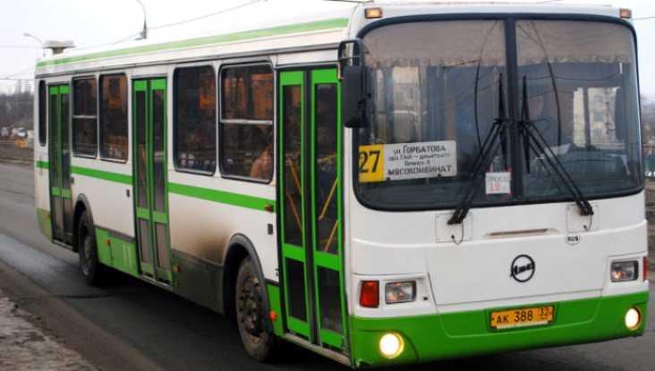 В брянском автобусе № 27 разбился 11-летний  мальчик