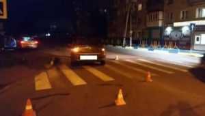В Брянске водитель Renault покалечил на «зебре» 30-летнего мужчину