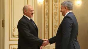 Лукашенко поблагодарил губернатора Брянской области Богомаза