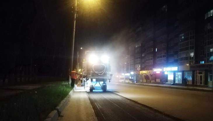 В Брянске начали ремонт на улицах Костычева и Рылеева