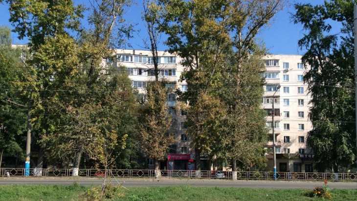 В Брянске на Авиационной начали вырубку тополей для расширения дороги