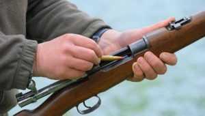 В Ставропольском крае пьяный брянец украл карабин с патронами