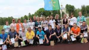 В Новозыбковском районе прошла весенняя спартакиада «Здоровье»