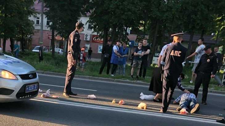 Возле полиции Брянского района агрессивный «малолетка» сбил мужчину
