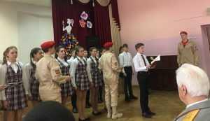 Военная комендатура Брянска взяла шефство над отрядом юнармейцев