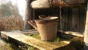 В Гордеевском районе сельские колодцы оказались с позорными ведрами
