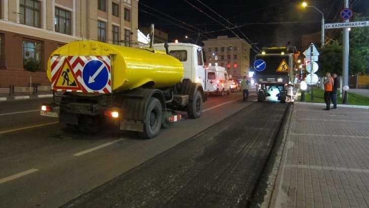 Ремонт проспекта Ленина в Брянске закончат в середине лета
