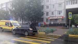 В Брянске выяснились подробности наезда джипа на отца с двумя детьми