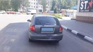 В ДТП брянская автомобилистка сильно ударилась лбом
