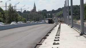 Первомайский мост в Брянске вышел на завершающую стадию строительства
