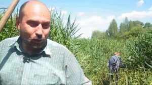 В брянских джунглях скосили 50-метровую полосу зарослей и ужаснулись