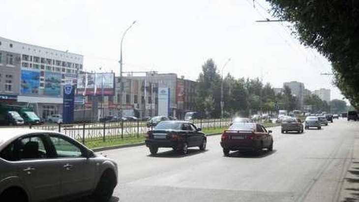 Власти Брянска объяснили загадочное исчезновение разметки на проспекте