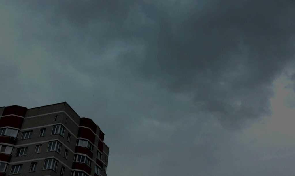 На Брянск обрушился сильнейший ливень