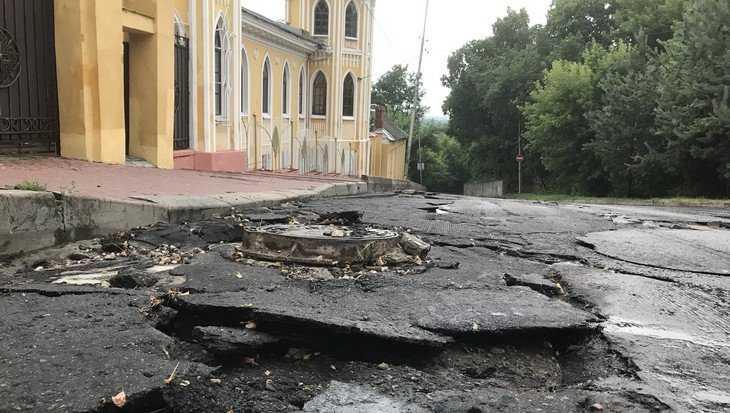 В Брянске распространили лживую информацию о якобы смытой новой дороге