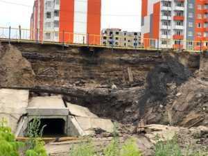 Управление МЧС: «Исходя из документов, дамбу в Брянске не размыло»