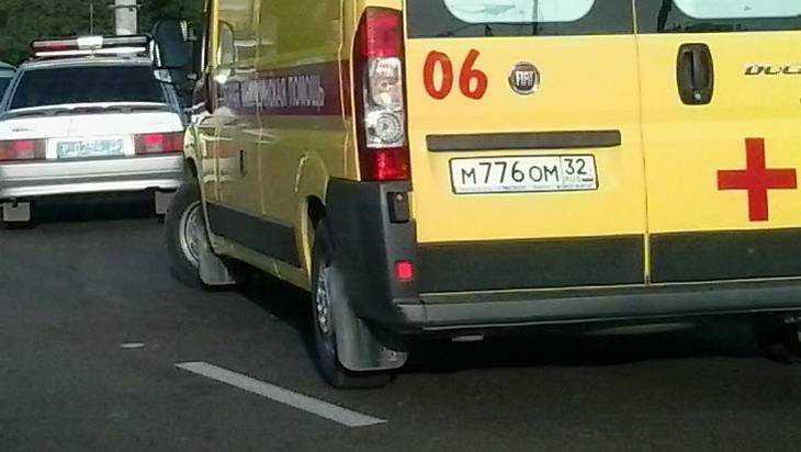 В Брянской области перевернувшийся 31-летний водитель впал в кому